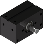 Compact, rugged, powerful A032 rotary actuator