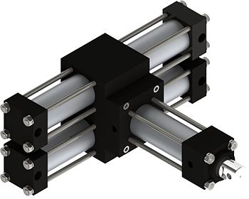Rotomation PA32 Pick & Place Actuator is a rugged multi-motion actuator that features added linear motion with combined independently-controlled rotary motion