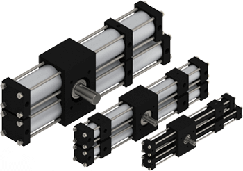 Four and Five-Position Actuators.