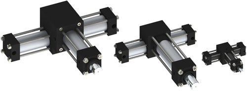 Single Rack Pick and Place Actuators