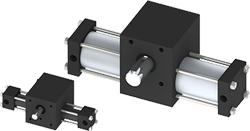 Single Rack Indexing Actuators