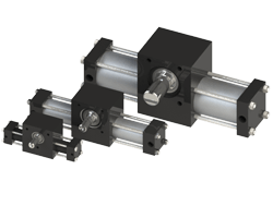Single rack Tie Rod Rotary Actuator Group