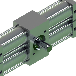 Custom actuators like our A42 full stainless steel rotary actuator