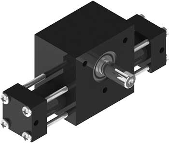 A1 Rotary Actuator Product Image