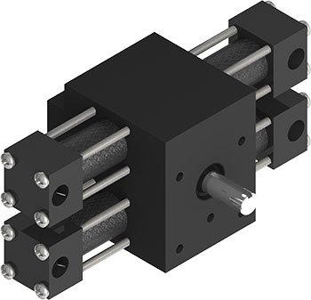 The X12 Indexing Actuator was redesigned in recent years for value-added features and ruggedness, the X12 is fast and simple to operate