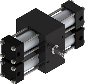 The X22 Indexing Actuator is the only indexing actuator with a single-body constructions, which makes it virtually impossible to fully seals for washdown applications